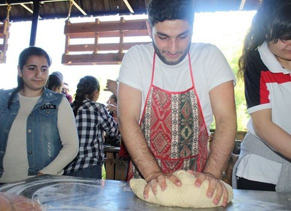 Գաթայի պատրաստում և համտես